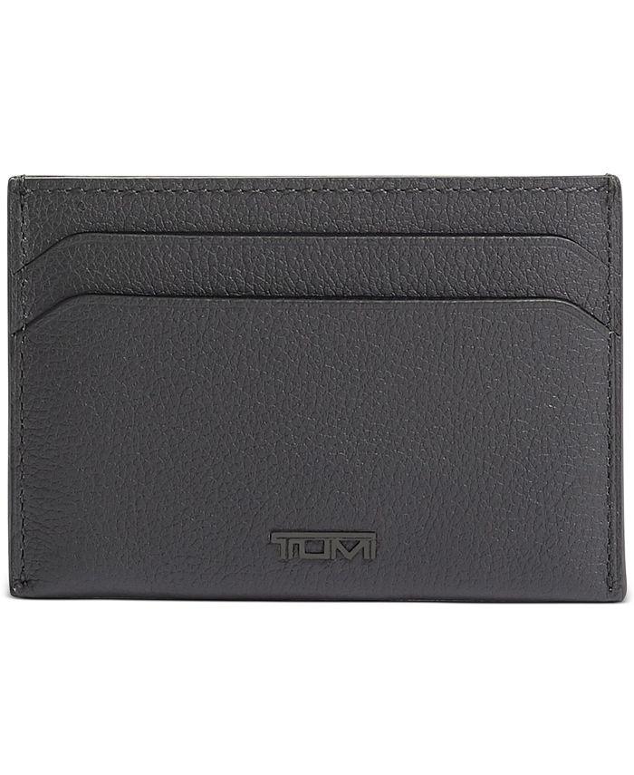 TUMI - Men's Money Clip Leather Card Case
