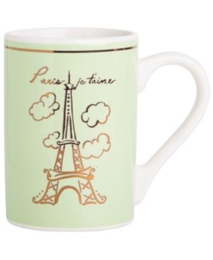 Home Essentials Adore Paris Mug Green mug, Created for Macy's