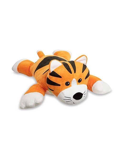 Melissa and Doug Melissa Doug Cuddle Tiger Jumbo Plush Stuffed Animal with Activity Card