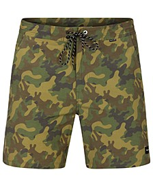 "Men's Beachside Island Hybrid 18"" Camo Shorts"