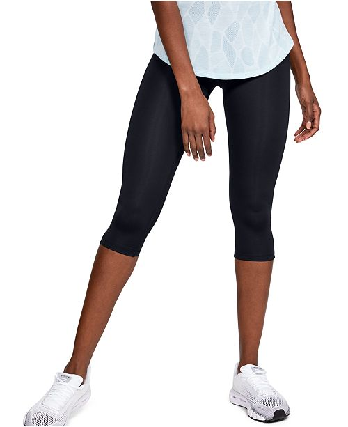 Under Armour Women's Fly By HeatGear® Compression Capri Leggings