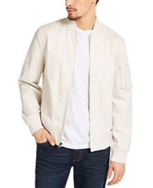 Men's Solid Mace Bomber Jacket, Created for Macy's