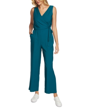 Image of 1.state Belted Surplice Jumpsuit