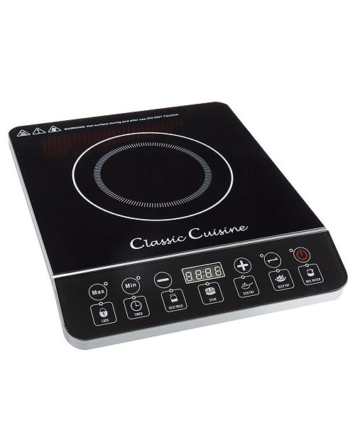 Classic Cuisine Multi - Function 1800W Portable Induction Cooker Cooktop Burner