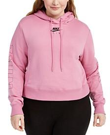 Plus Size Air Logo Hoodie
