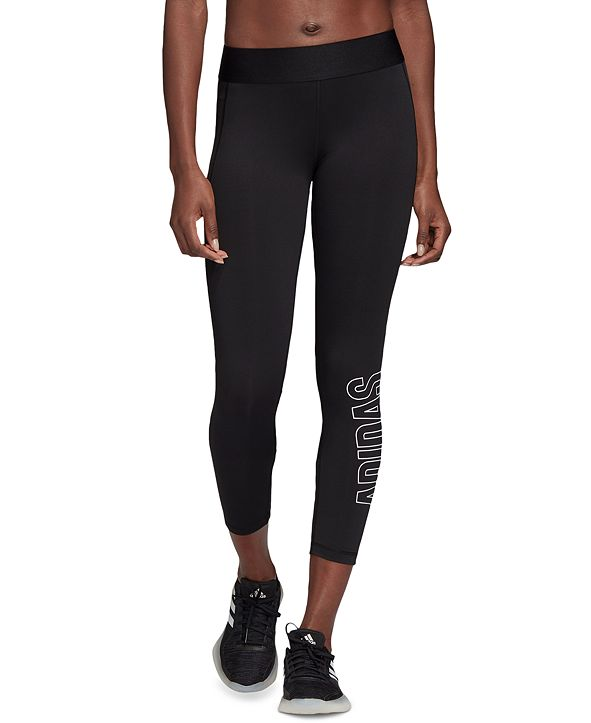 adidas Women's Alphaskin Compression 7/8 Leggings