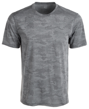 Id Ideology Men's Jacquard Camo T-Shirt, Created for Macy's