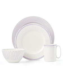 Charlotte Street Lilac East 4 Piece Place Setting