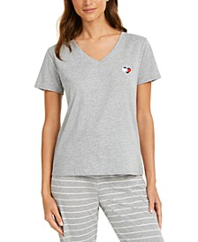 Logo Heart Flag Pajama T-Shirt