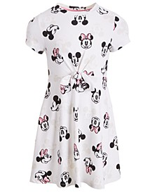 Little Girls Mickey & Minnie Mouse Dress