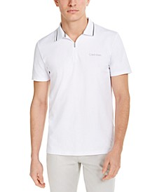 Men's CK Move 365 Zip Polo Shirt