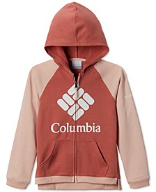 Big Girls Colorblocked UPF 50+ Logo Hoodie