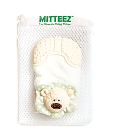 The Ultimate Organic Baby Teething Mitten - Pea Bear