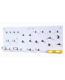 DuraHook DuraHook Wall Organizer 24 Hooks, 2 Duraboards, 4 Piece Bin System and Mounting Hardware Kit