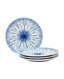 Hanabi Set/4 Coupe Salad Plates