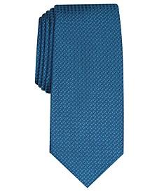 Men's Slim Textured Tie, Created for Macy's