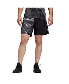 Men's Aeroready Printed Running Shorts