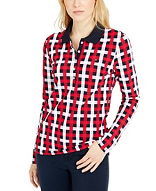 Bostonian Plaid Polo Shirt