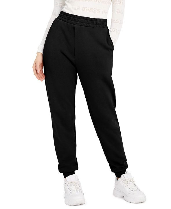 GUESS ECO Amber Curved Logo Jogger Pants