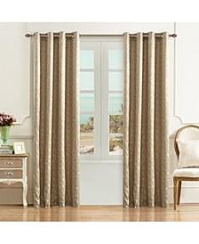 "Simone Lined Room Darkening Curtain, 95"" L x 50"" W"