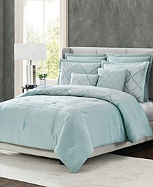 5th Avenue Lux Roya 7-Piece Queen Bedding Set