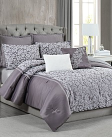 5th Avenue Lux Westbury 7-Piece Queen Bedding Set