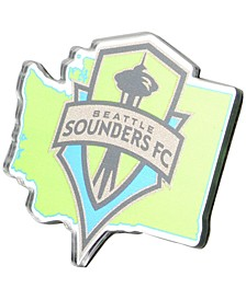 Seattle Sounders FC Metal Auto Emblem