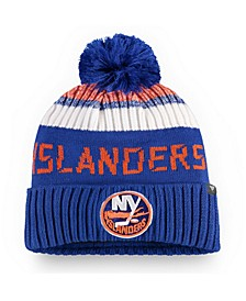 New York Islanders Authentic Pro Rinkside Goalie Pom Knit Hat
