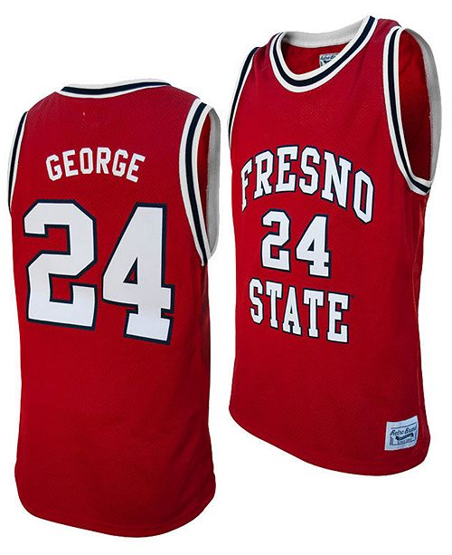 Retro Brand Men's Paul George Fresno State Bulldogs Throwback Jersey
