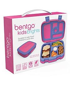 Kids Brights 5-Compartment Bento Lunch Box, Fuscia