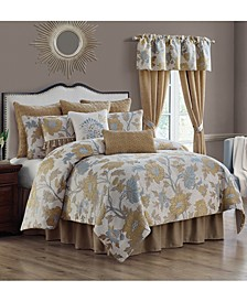 Jolene 4-Piece Queen Comforter Set
