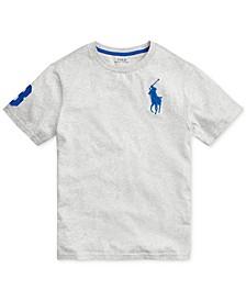 Big Boys Big Pony Cotton Jersey T-Shirt