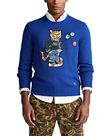Men's Polo Tiger Sweater