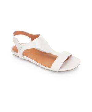 by Kenneth Cole Lark Slim T-Strap Sandals Women's Shoes