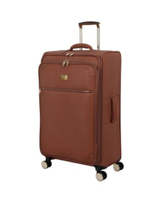 """31"""" Compelling Softside Semi-Expandable Spinner Suitcase"""
