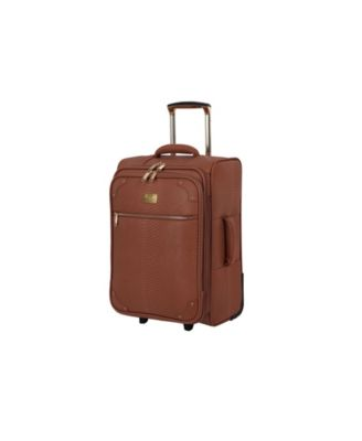 """22"""" Compelling Softside Semi-Expandable Carry-On Suitcase"""