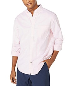 Men's Oxford Solid Button-Down