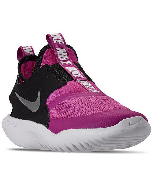 Nike Little Girls Flex Runner Slip-On Athletic Sneakers from Finish Line