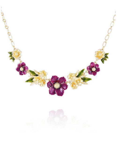 Nanette Lepore Winter Garden Statement Necklace