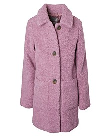 Big Girl Long Teddy Jacket