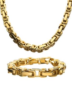 """Byzantine Chain 8"""" Bracelet and 22"""" Necklace Set"""