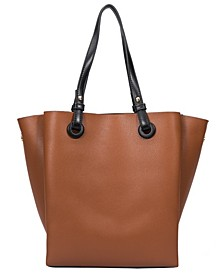 Devyn Large Vegan Leather Tote