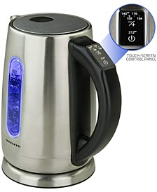 Stainless Steel Electric Kettle with Touch Screen Control Panel