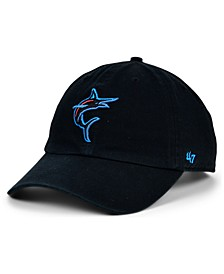 Miami Marlins Core CLEAN UP Strapback Cap