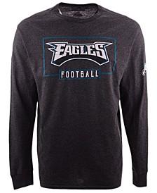 Men's Philadelphia Eagles Box Score FO Long Sleeve T-Shirt