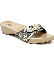 Women's Classic Slide Flat Sandals