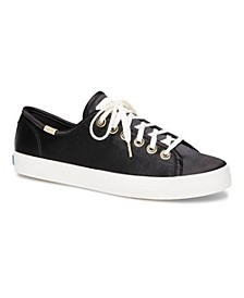 Kickstart Satin Sneakers