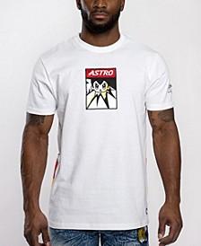 Men's Astroboy Applique Patch Graphic T-shirt