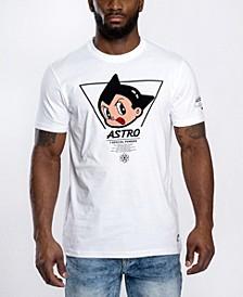 Men's Astroboy Chenille Patch Graphic T-shirt