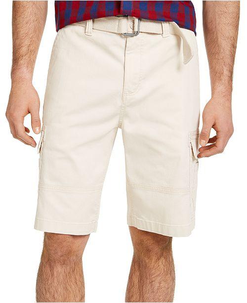 Sun + Stone Men's Franklin Cargo Shorts, Created for Macy's